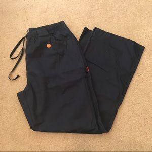 NEW DICKIES LARGE NAVY PANTS